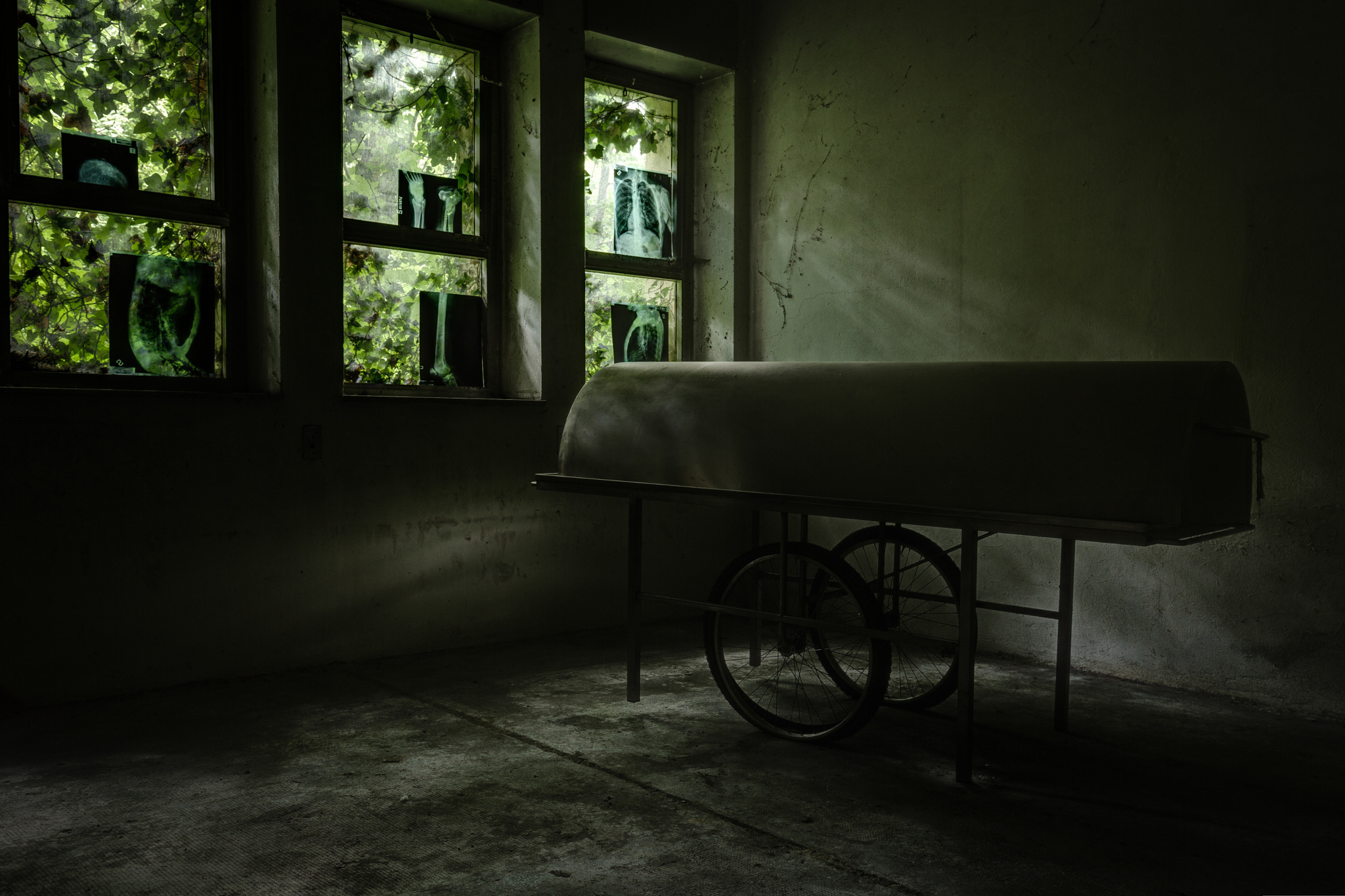 Abandoned psychiatric hospital 17