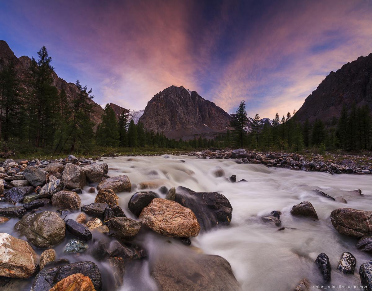 Aktru Gorge. Gorny Altai 10