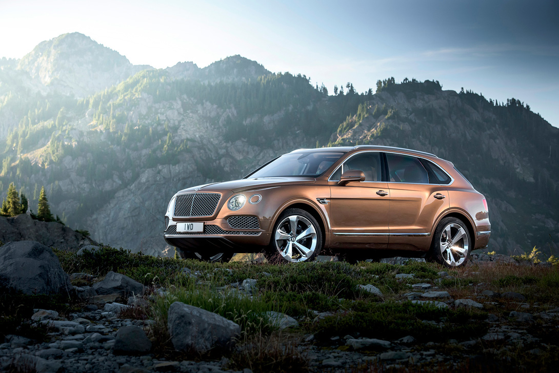 Bentley Bentayga 7