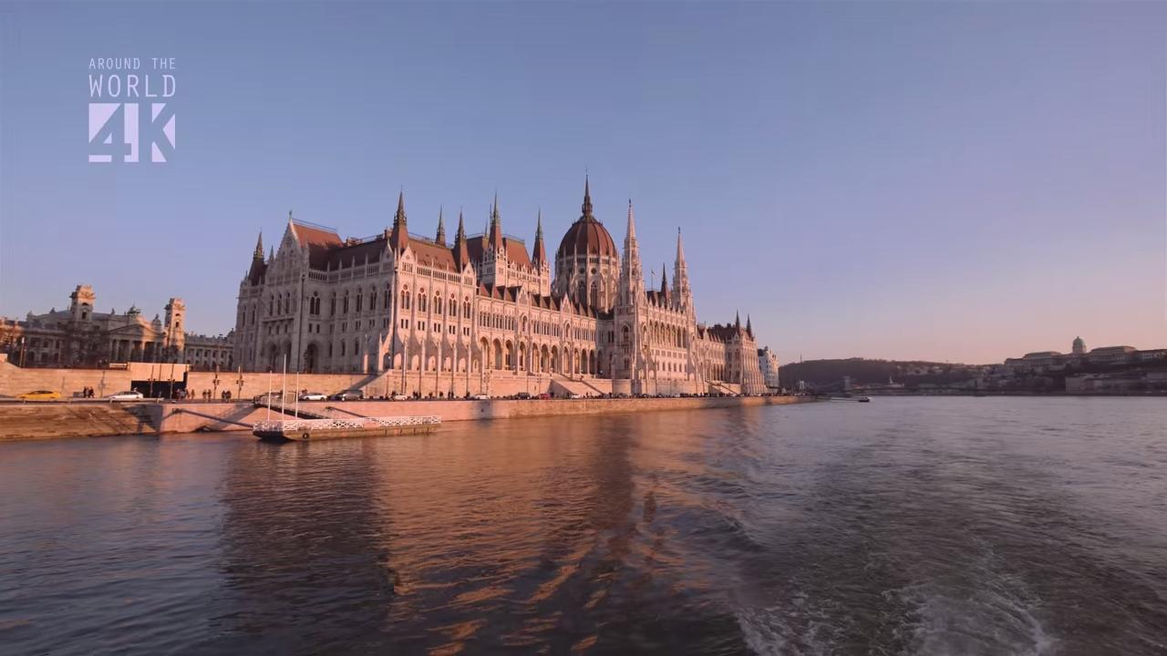 Красивое видео о Будапеште, снятое с беспилотника
