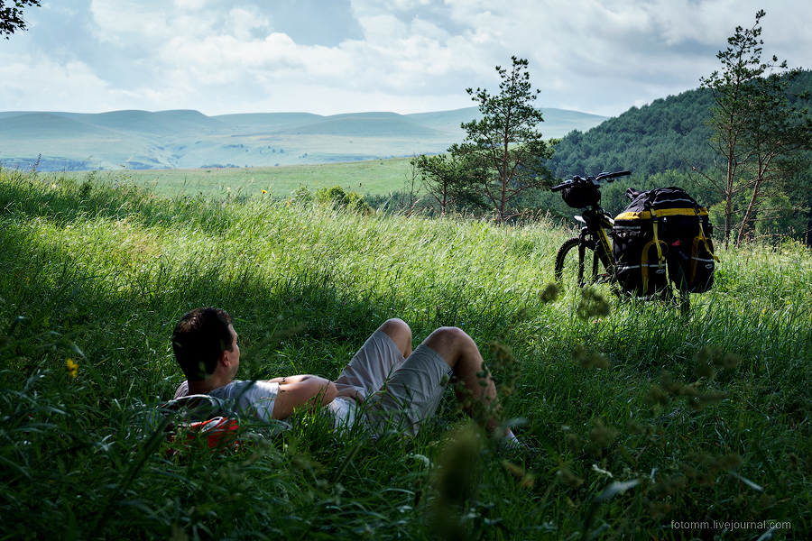 Caucasus on two wheels 11