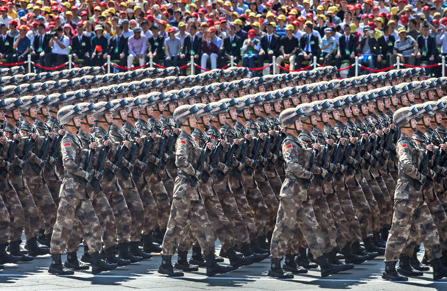 China Stages a Massive Military Parade 01