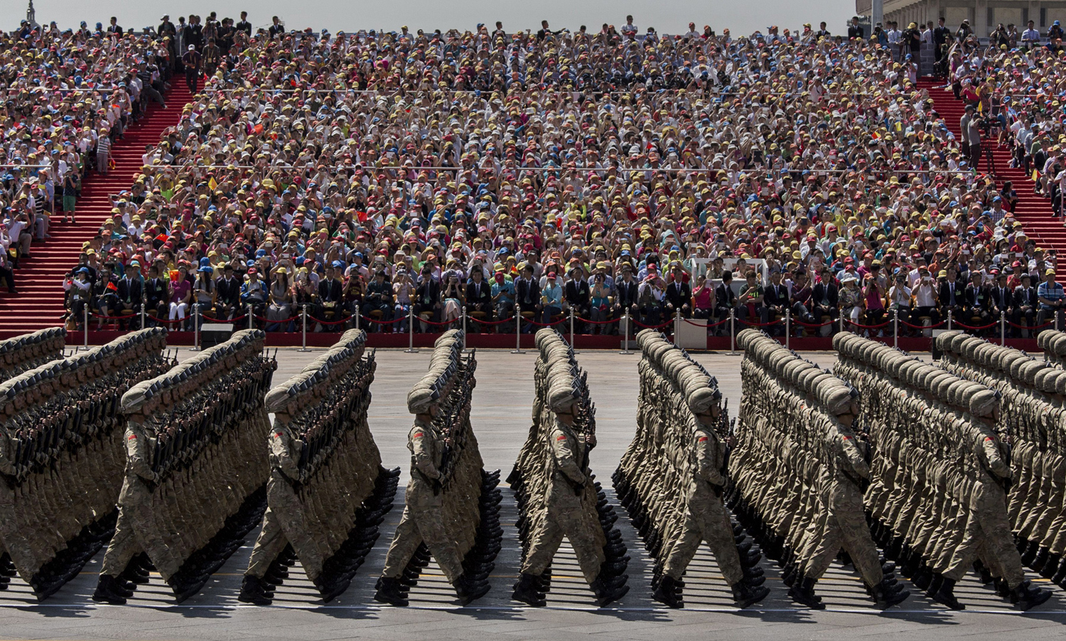 China Stages a Massive Military Parade 07