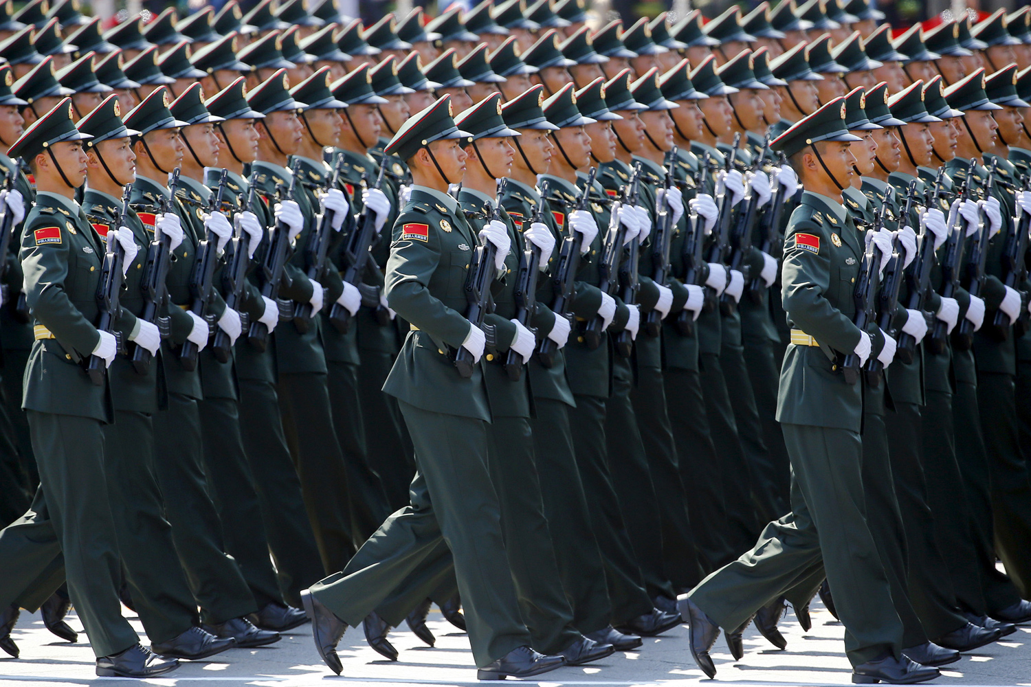 China Stages a Massive Military Parade 08