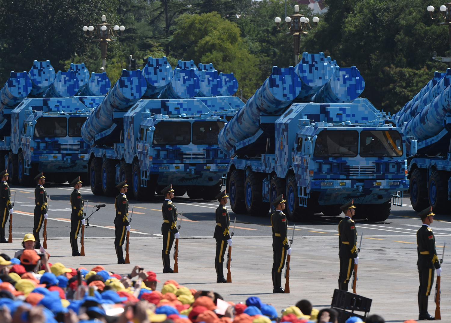 China Stages a Massive Military Parade 11