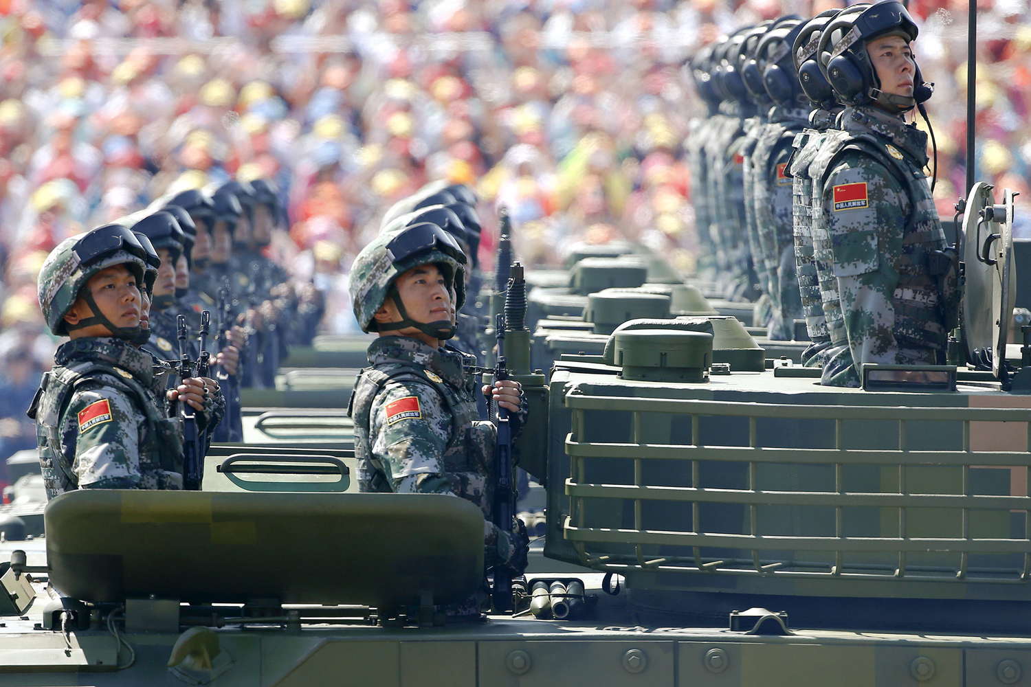 China Stages a Massive Military Parade 12