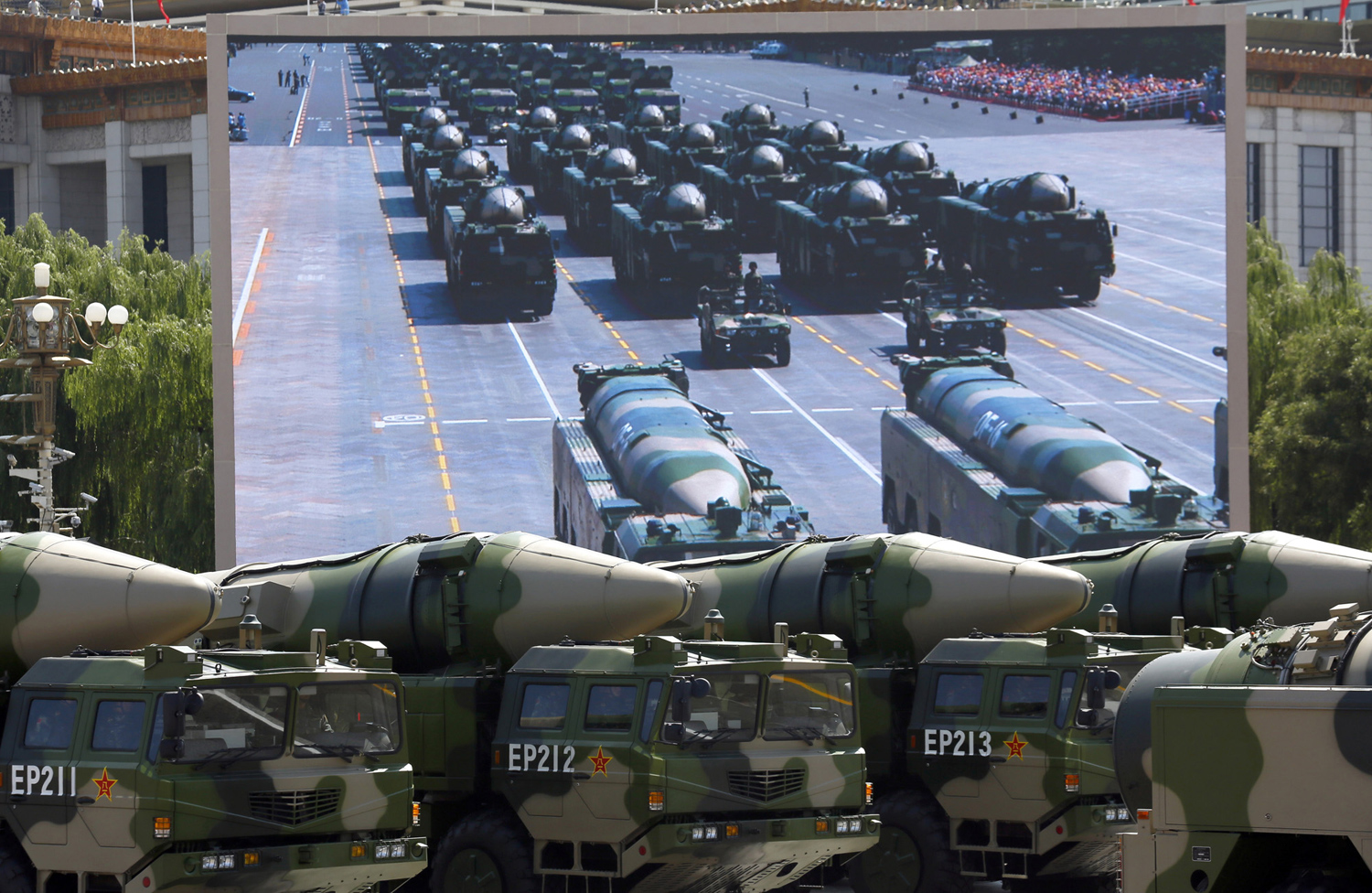 China Stages a Massive Military Parade 13