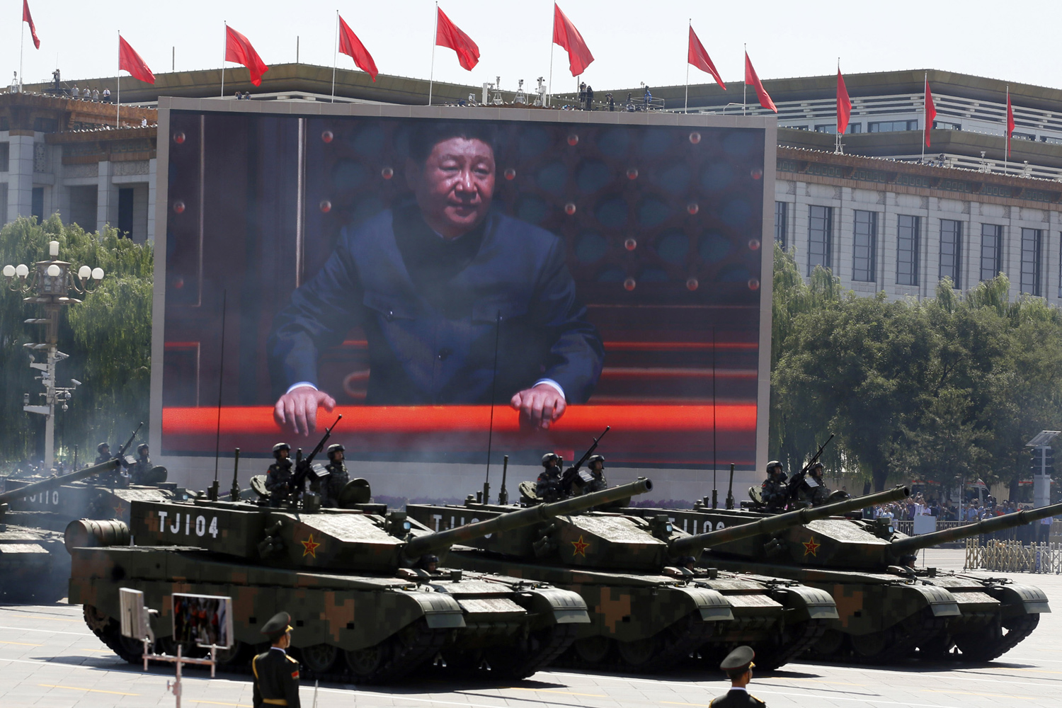 China Stages a Massive Military Parade 15