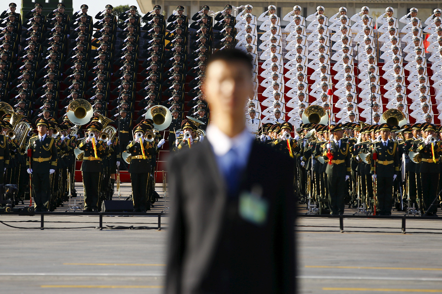 China Stages a Massive Military Parade 18