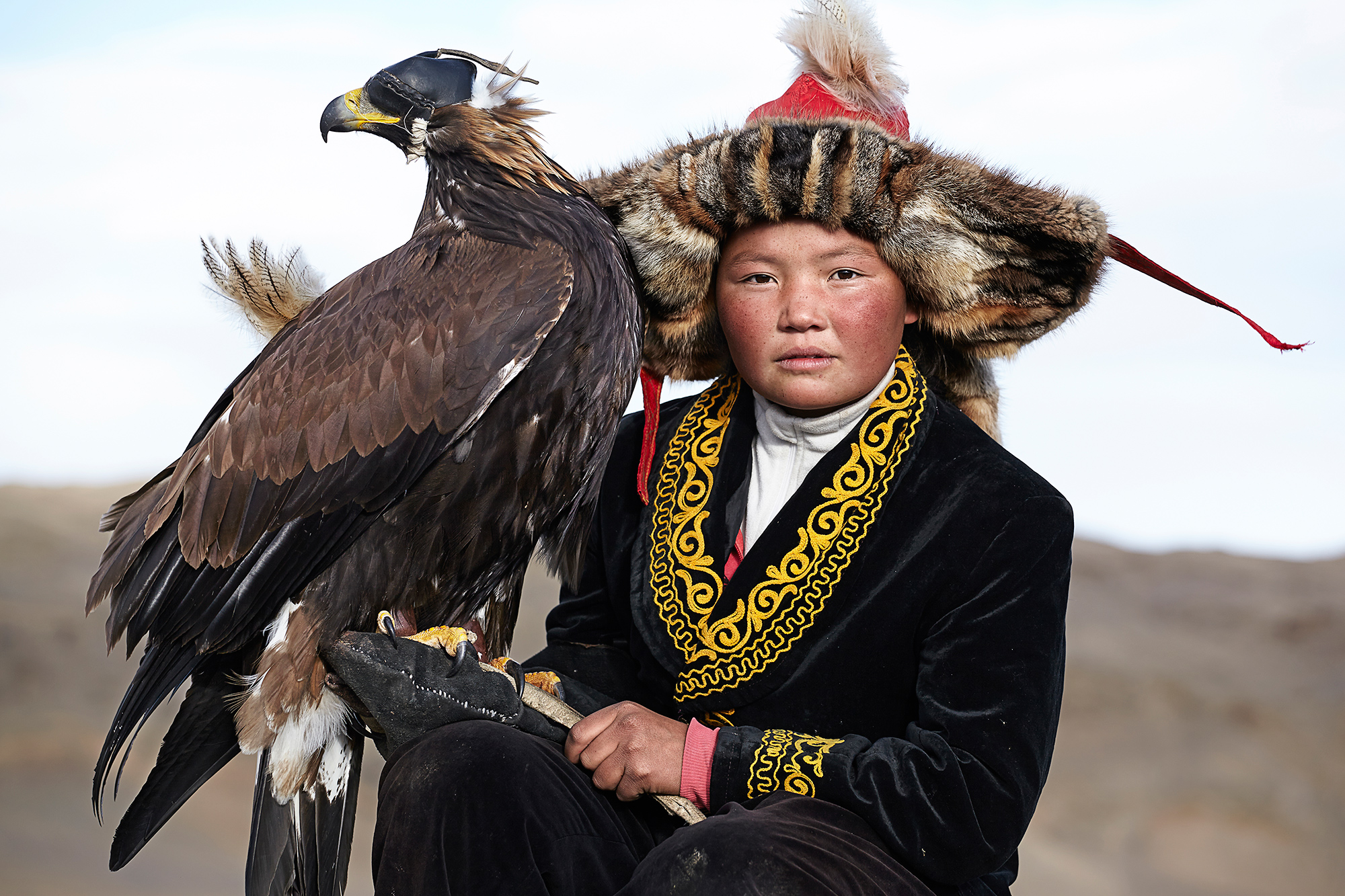 Eagle hunting in Mongolia 06