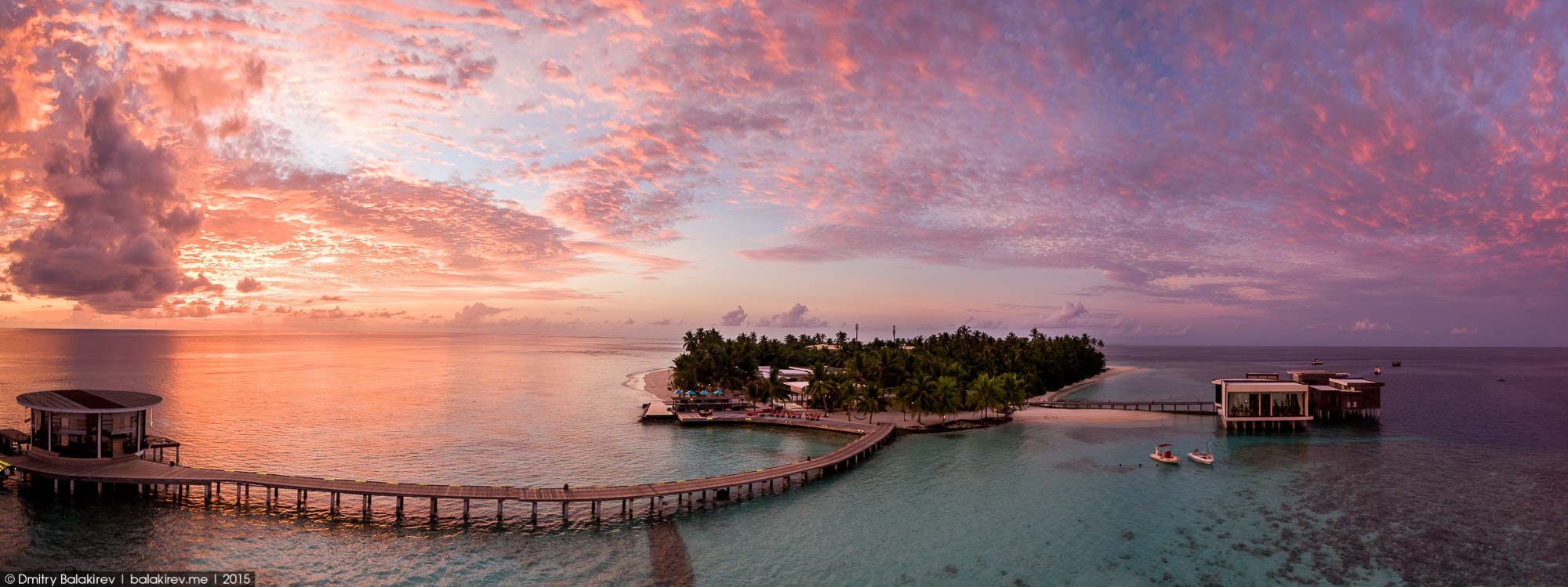 Island in the Maldives in the form of heart 14
