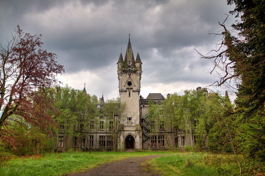 Заброшенный замок Миранда, Арденны