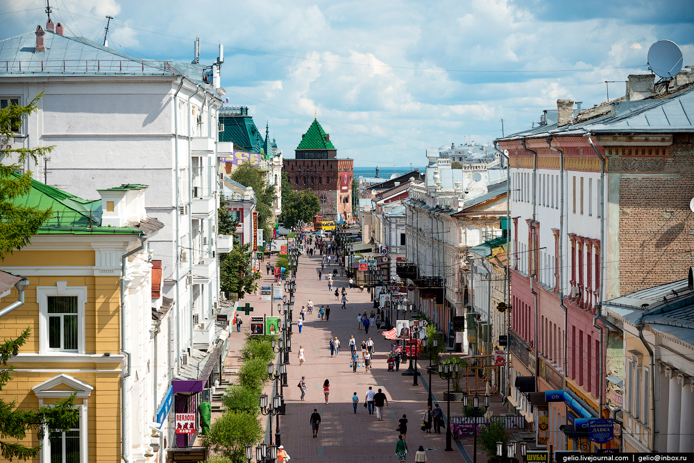 Nizhny Novgorod with height_12