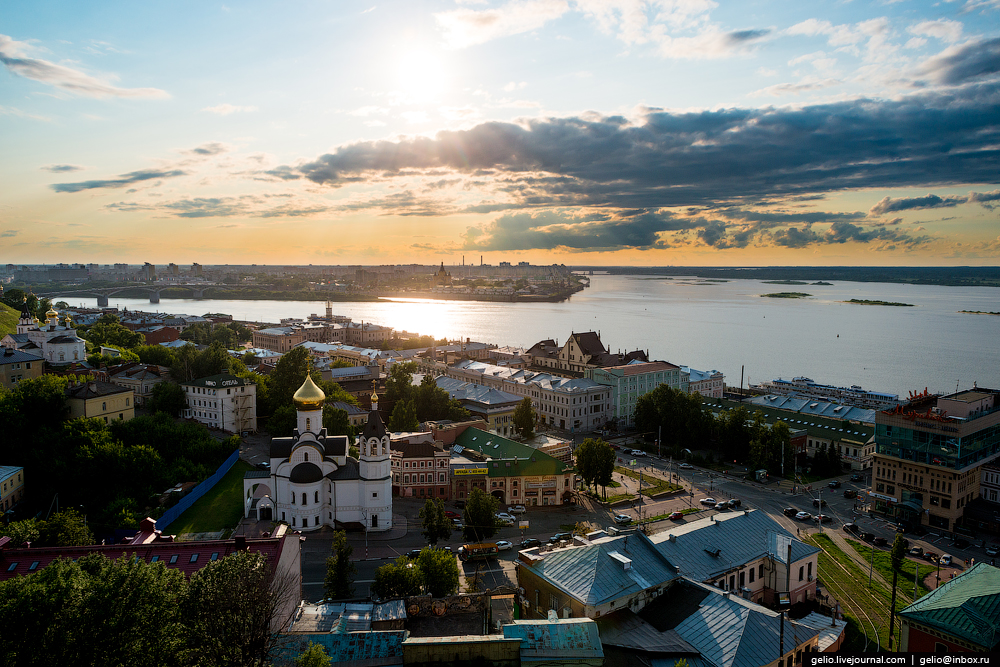 Nizhny Novgorod with height_18