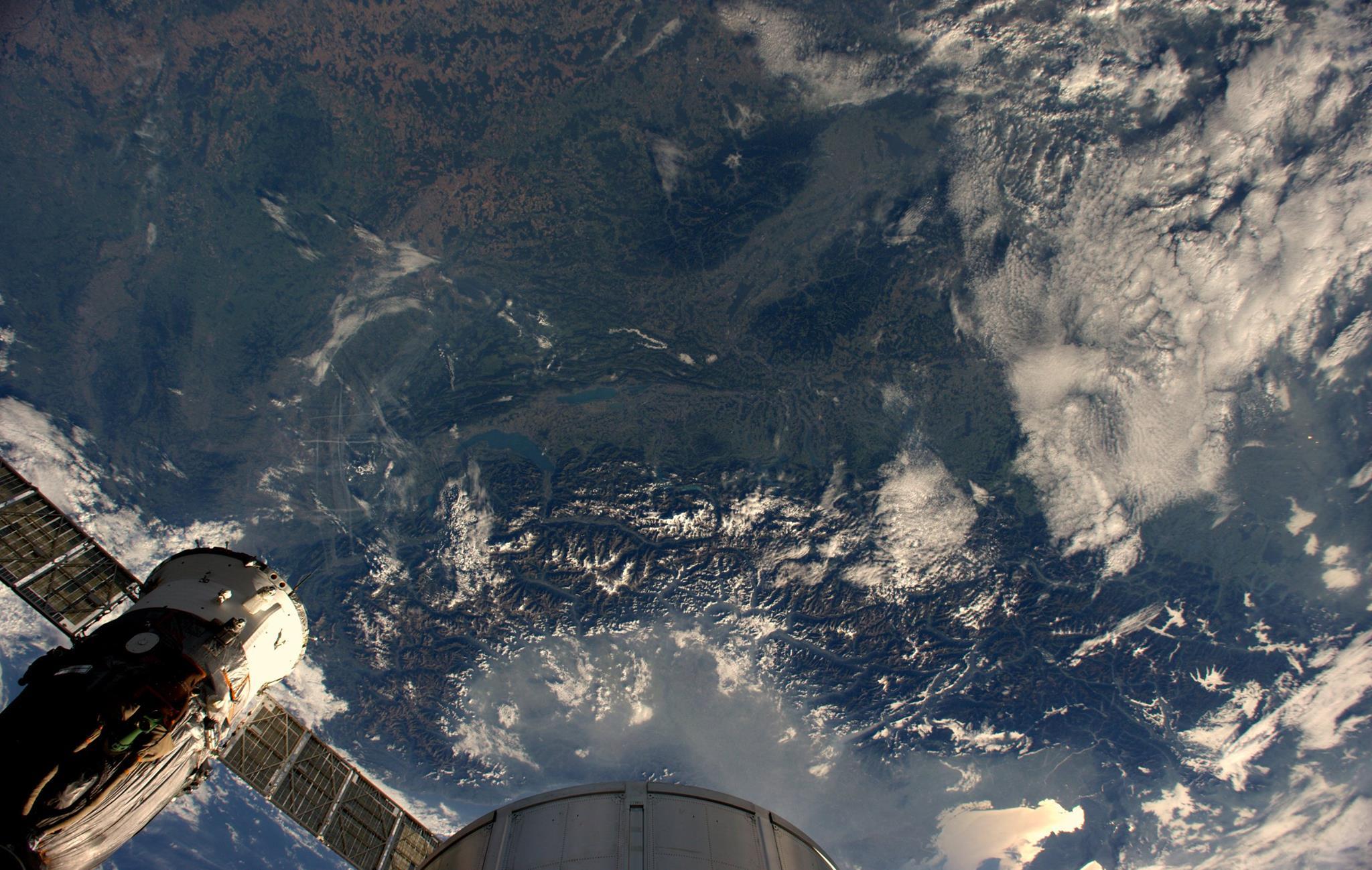 Photos astronaut Alexander Gerst 26