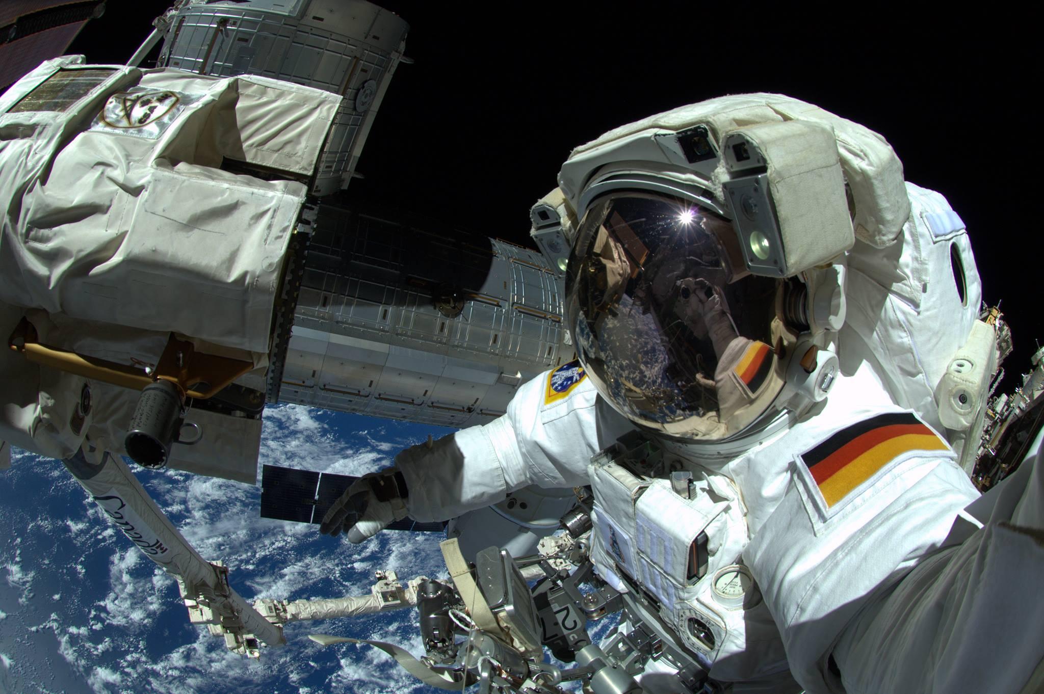 Photos astronaut Alexander Gerst 30