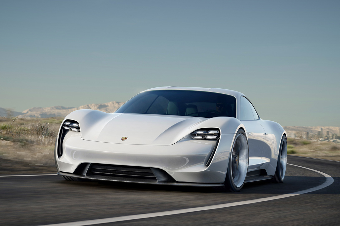 Porsche Mission E: концепт электроспорткара