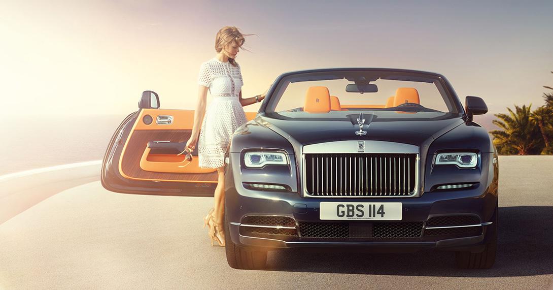 Rolls-Royce Dawn: страстный порыв дизайнерского карандаша