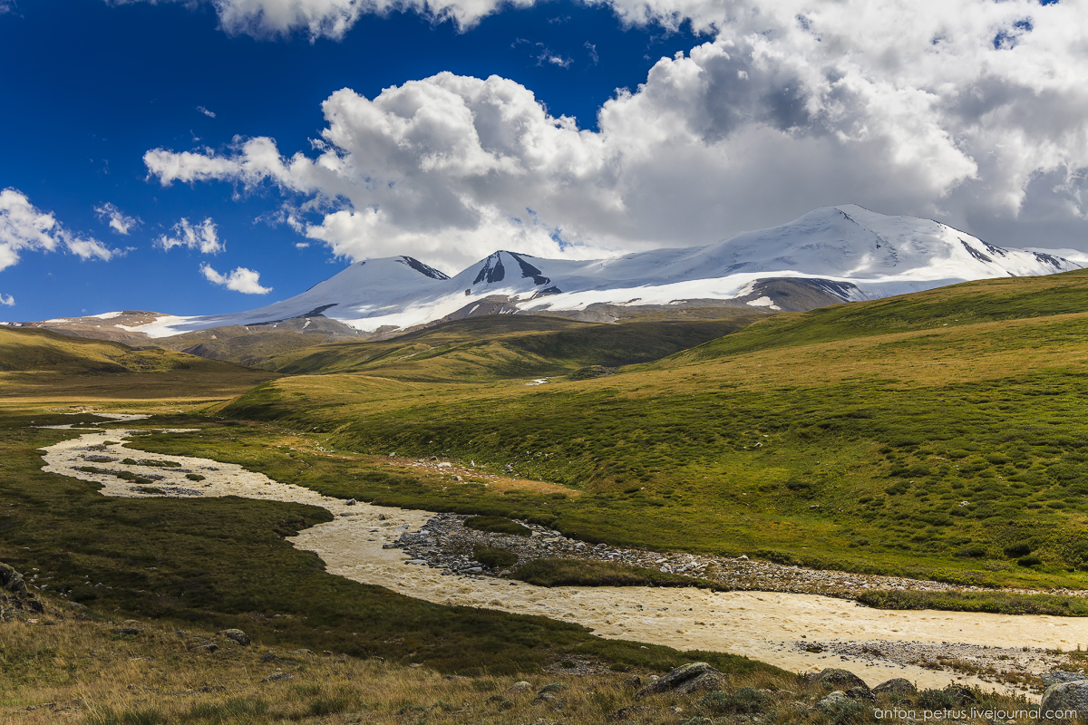 The energy of the mountains. The Ukok Plateau 02