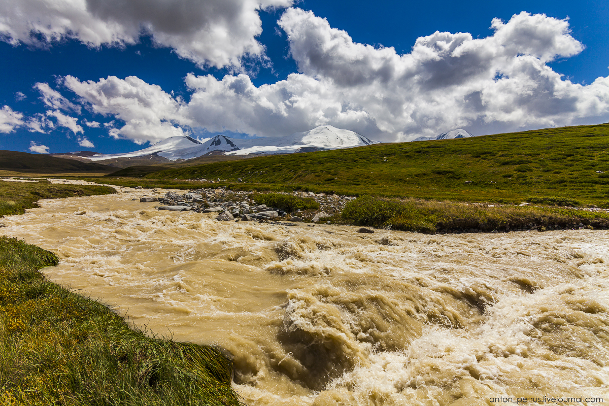 The energy of the mountains. The Ukok Plateau 03