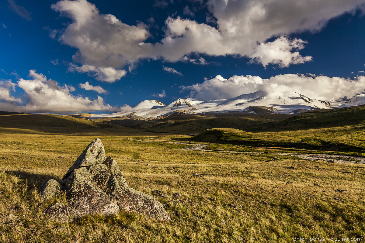 The energy of the mountains. The Ukok Plateau 05