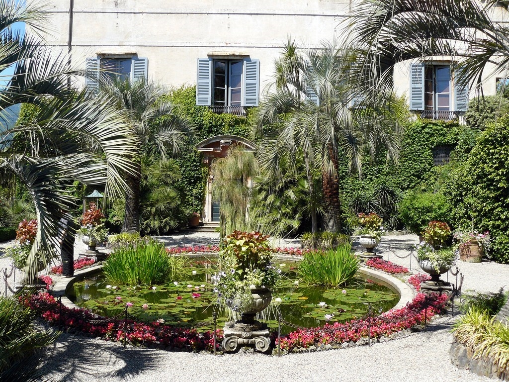 The gardens of Isola Bella 11