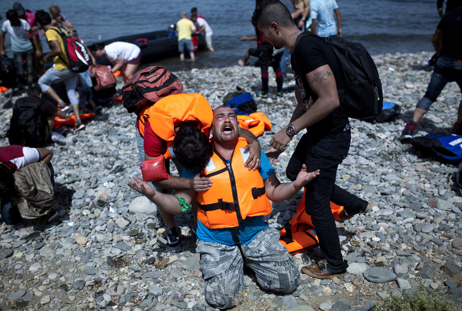 The path of migrants in Europe 01