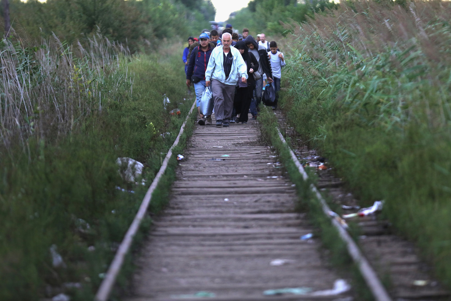 The path of migrants in Europe 04