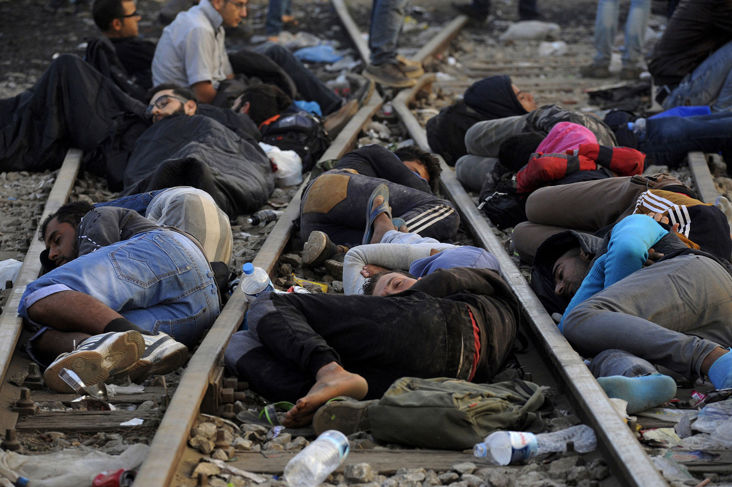 The path of migrants in Europe 06