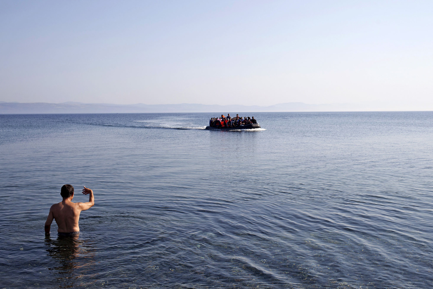 The path of migrants in Europe 07