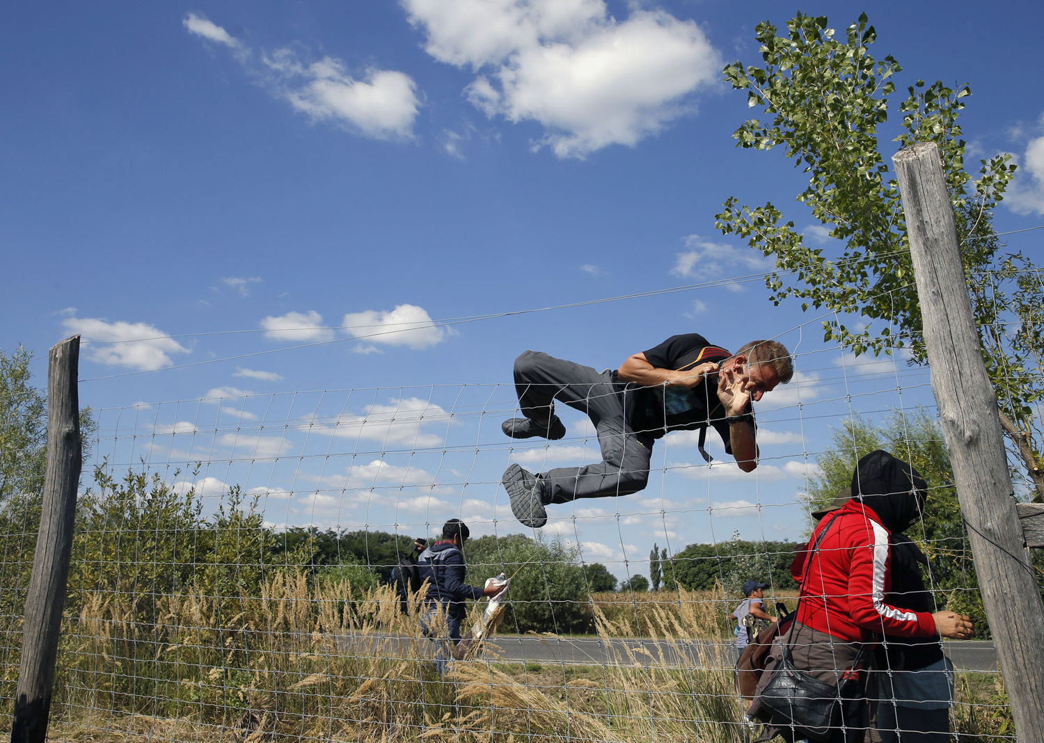 The path of migrants in Europe 12