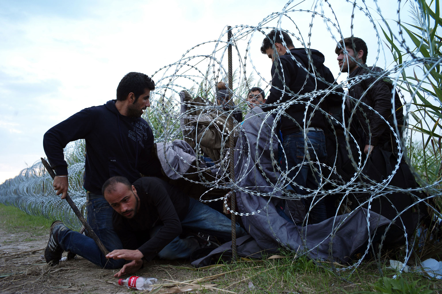 The path of migrants in Europe 27