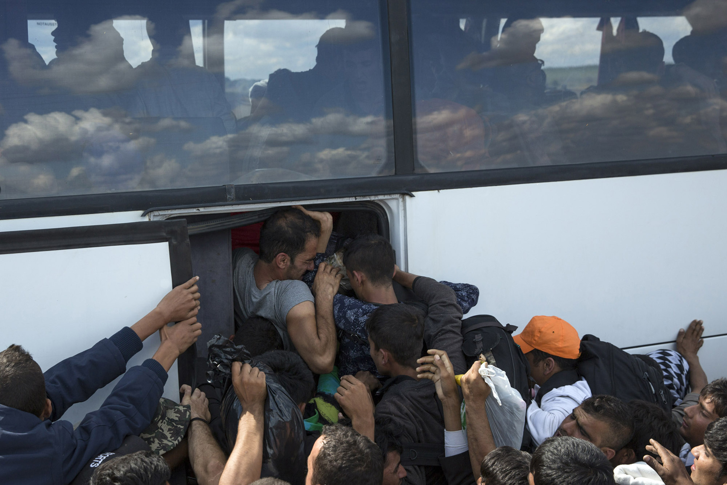The path of migrants in Europe 39