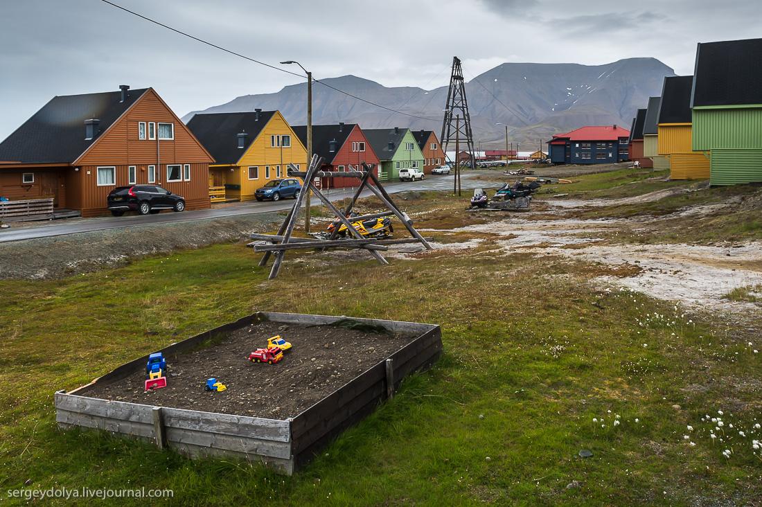 Как и чем живут норвежцы на Шпицбергене