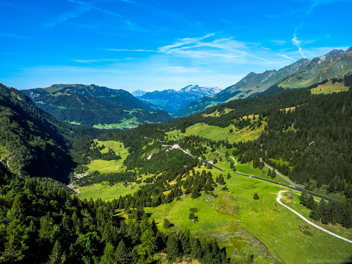 Отдых в Швейцарских Альпах