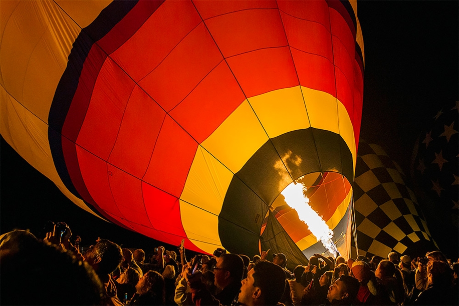 Annual balloon festival in Albuquerque 01