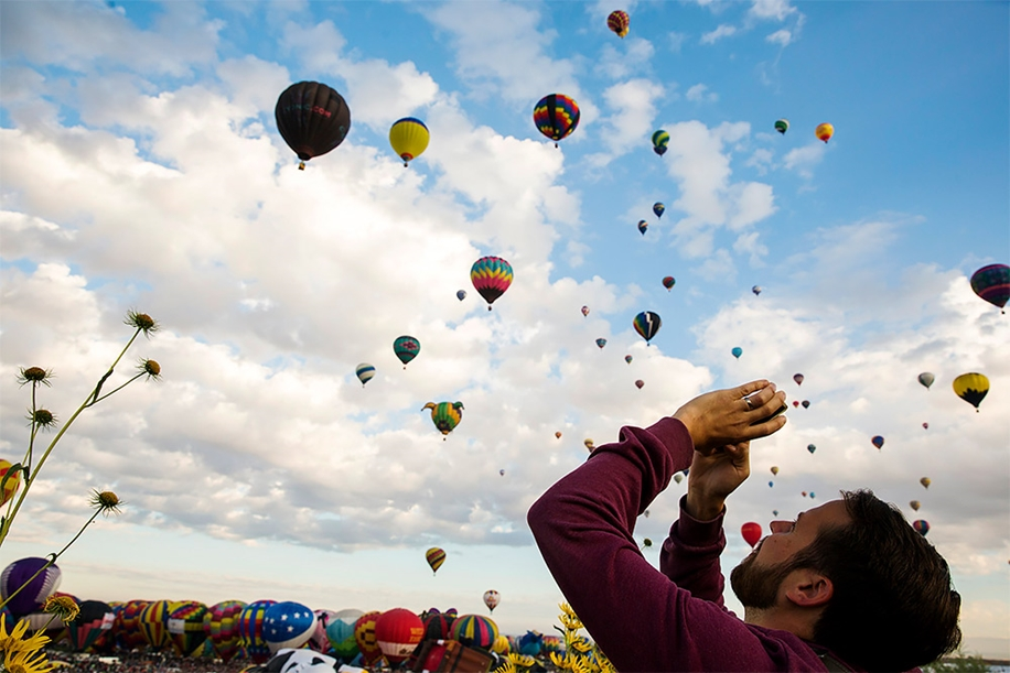 Annual balloon festival in Albuquerque 09
