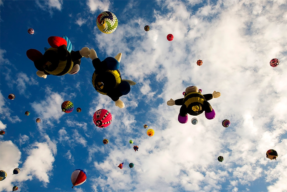 Annual balloon festival in Albuquerque 10