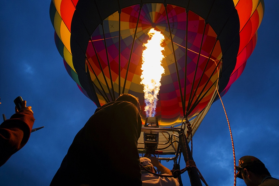 Annual balloon festival in Albuquerque 16
