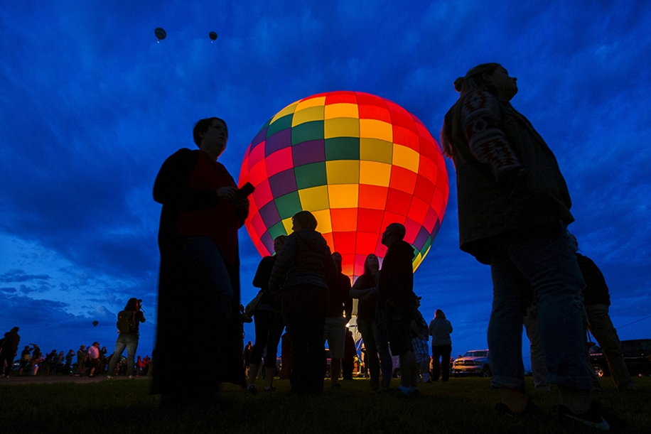 Annual balloon festival in Albuquerque 19