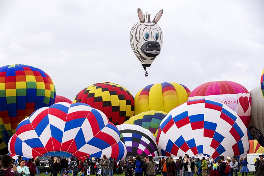 Annual balloon festival in Albuquerque 20