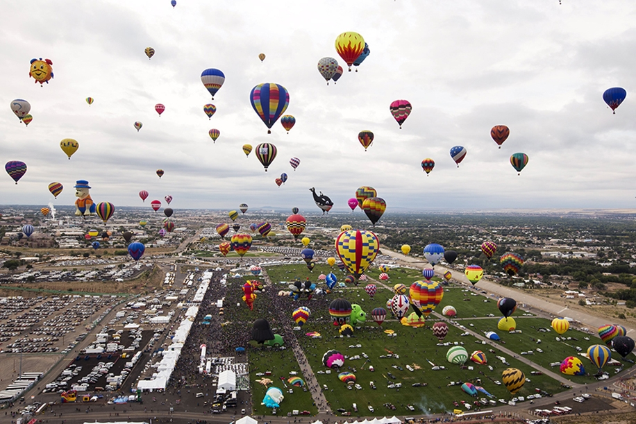 Annual balloon festival in Albuquerque 22