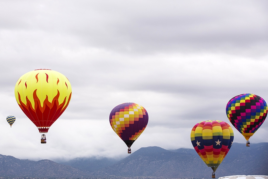 Annual balloon festival in Albuquerque 23