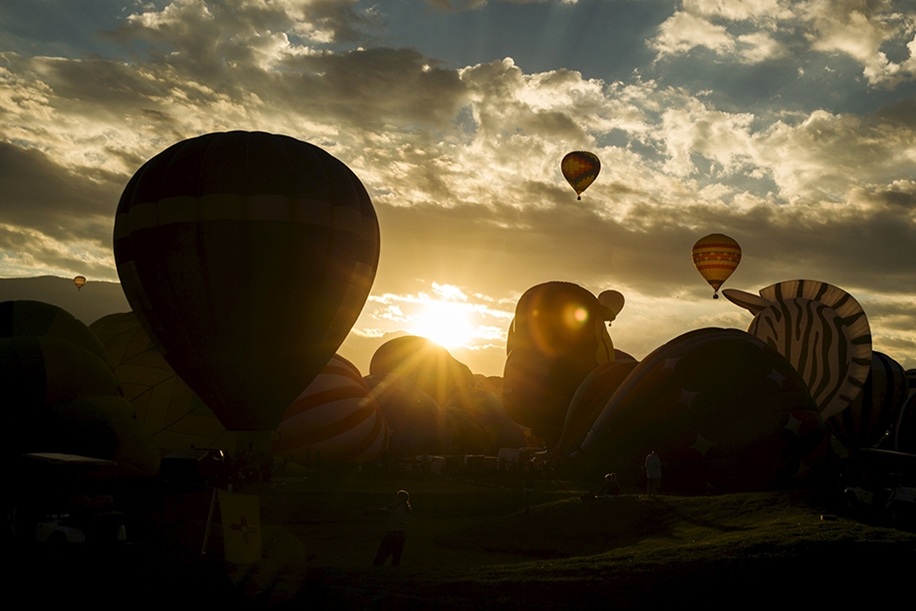 Annual balloon festival in Albuquerque 25