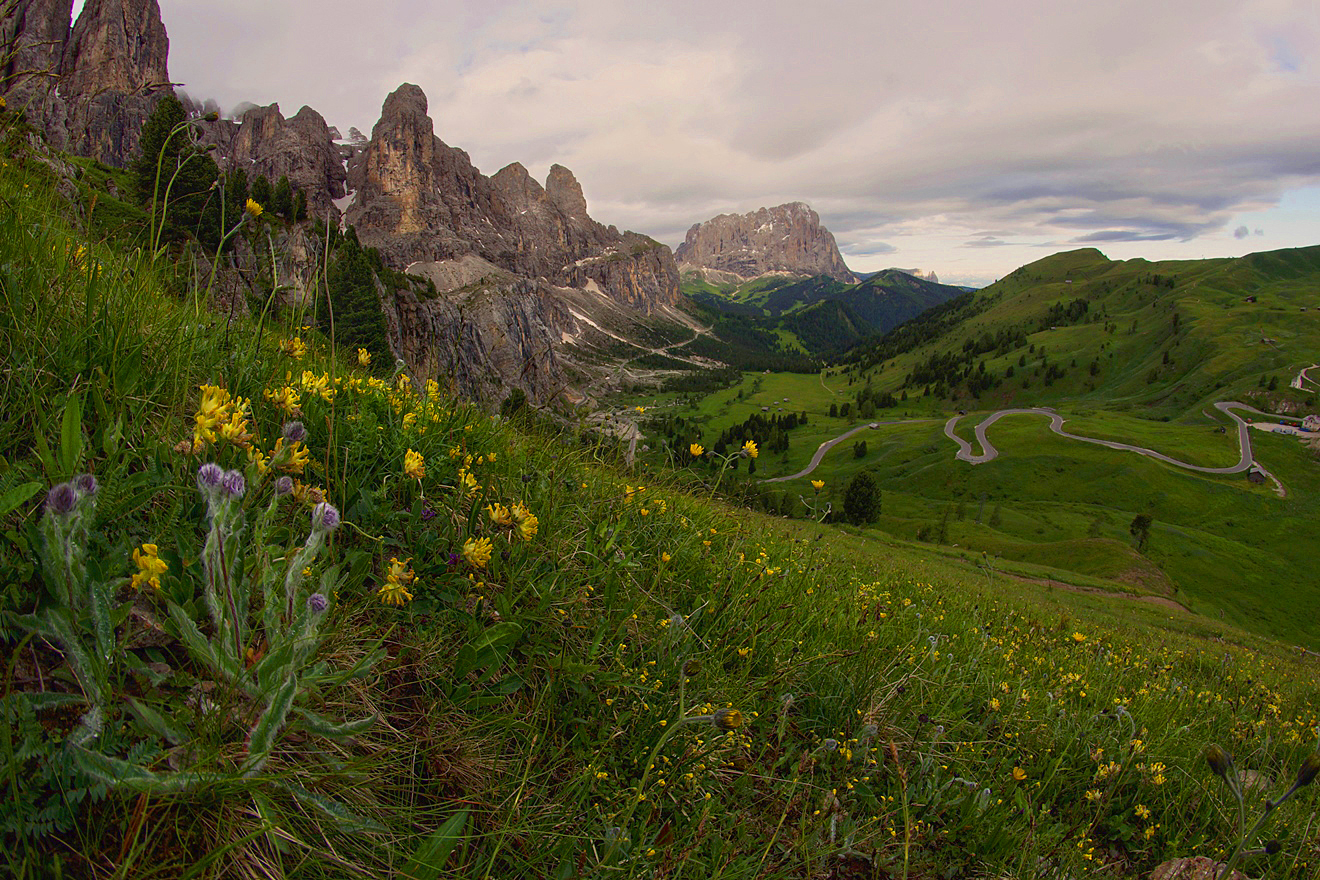 Dolomites, Italy. The best routes 23