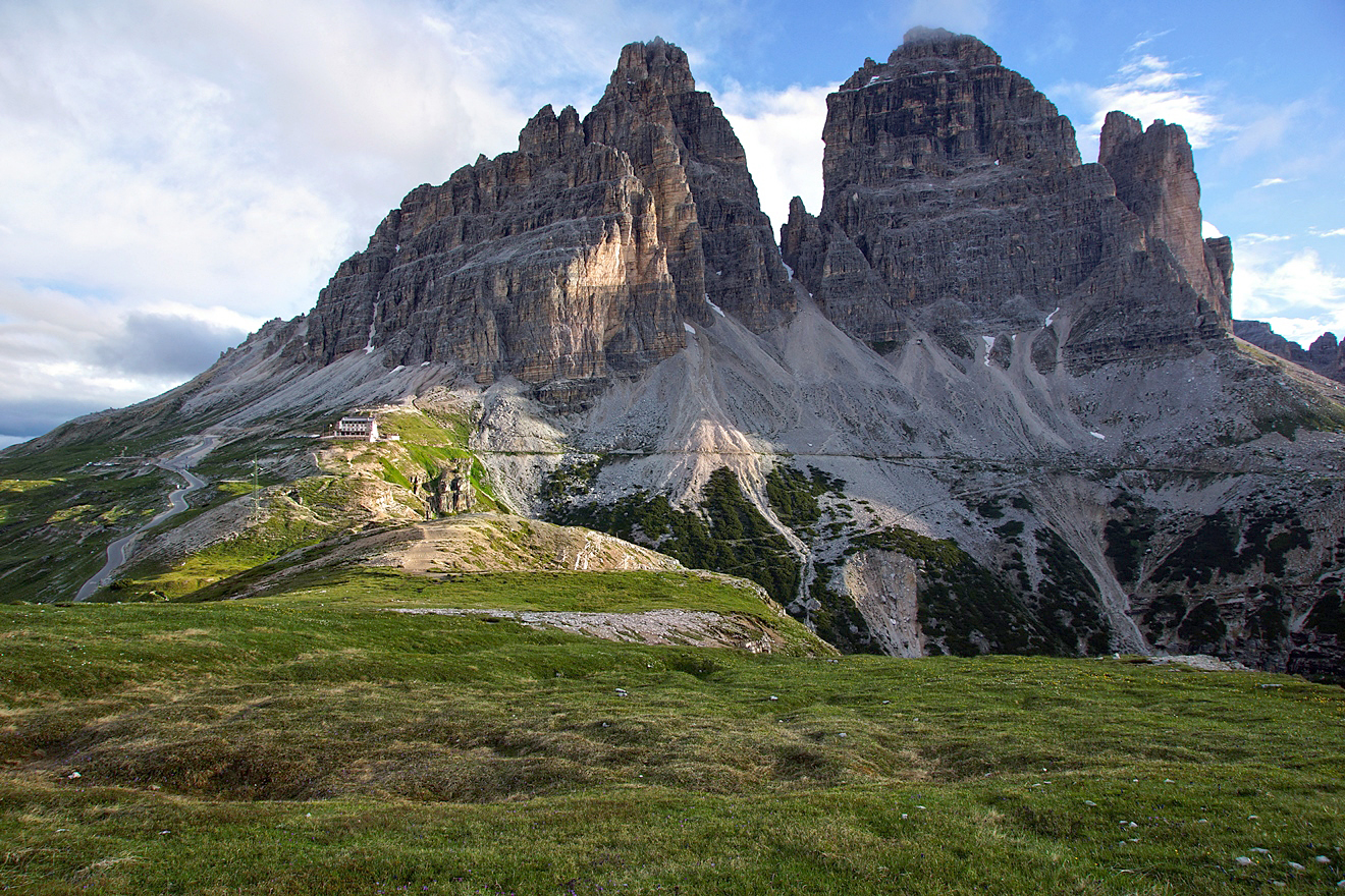Dolomites, Italy. The best routes 52