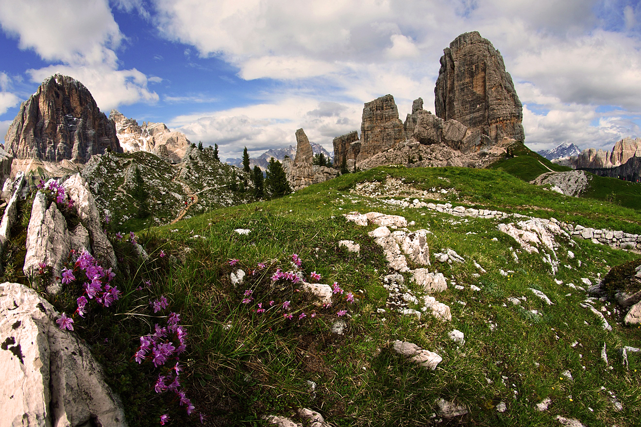 Dolomites, Italy. The best routes 60