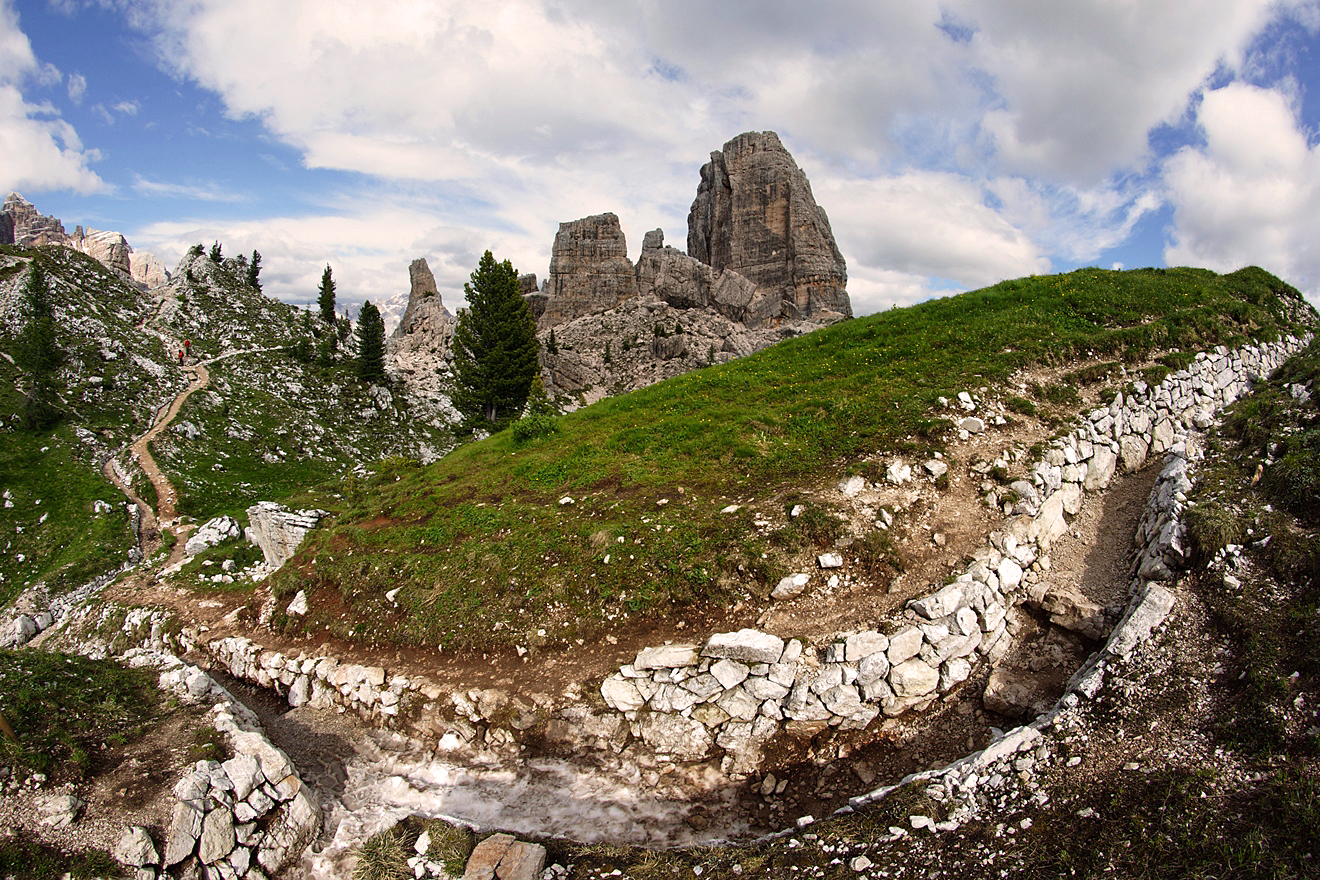 Dolomites, Italy. The best routes 62