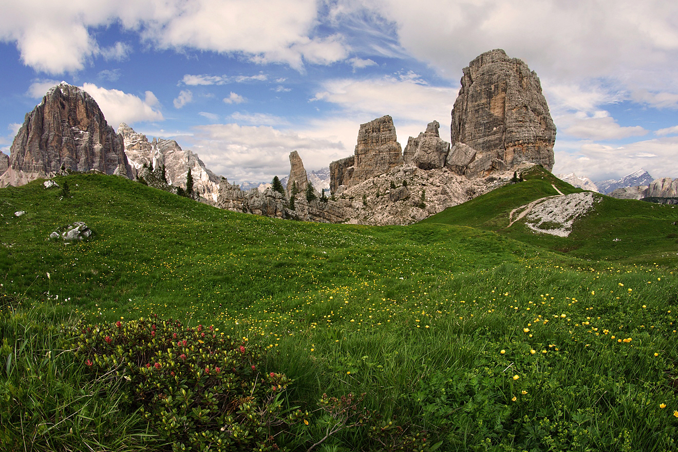 Dolomites, Italy. The best routes 63