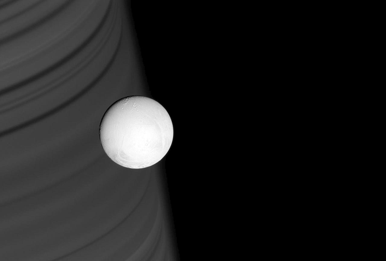 Enceladus, Saturn's Amazing Snowball Moon 01